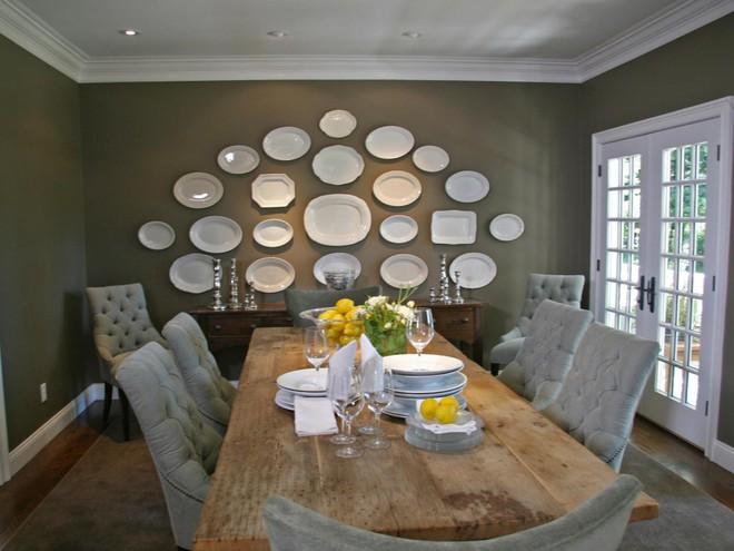 Trang trí tường bằng đĩa vừa rẻ vừa dễ, lại có thể kết hợp được với bất cứ dạng nội thất nào, tại sao bạn không thử? - Ảnh 11.
