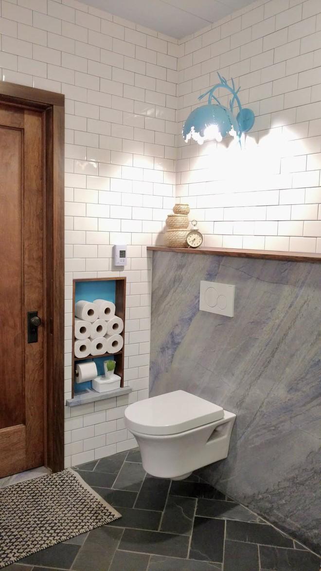Mua căn nhà bỏ hoang 30 năm, cô gái tự tay cải tạo phòng tắm đẹp đến ngỡ ngàng - Ảnh 5.