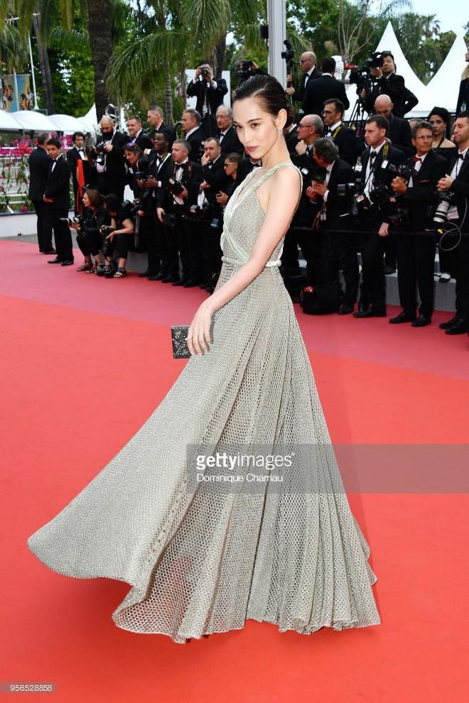 Không phải Phạm Băng Băng, đây mới là mỹ nhân châu Á có những khoảnh khắc thần sầu nhất tại thảm đỏ Cannes - Ảnh 1.
