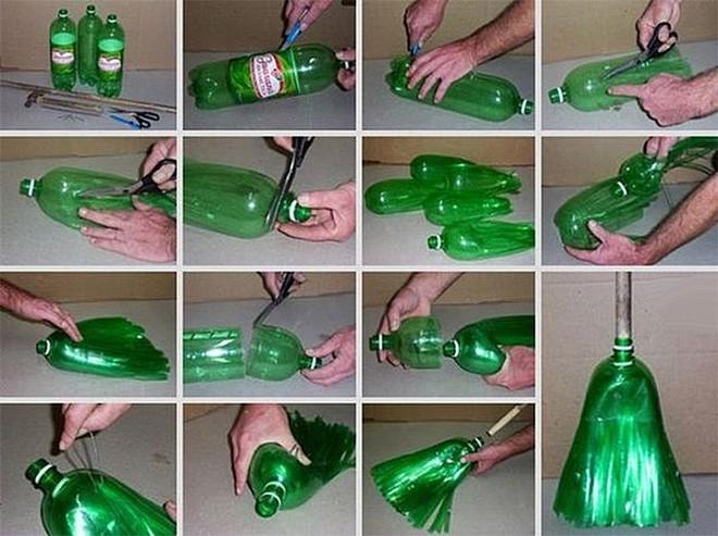 Muôn vàn cách tái chế đồ dùng độc đáo, hay ho từ chai nhựa bỏ đi - Ảnh 25.