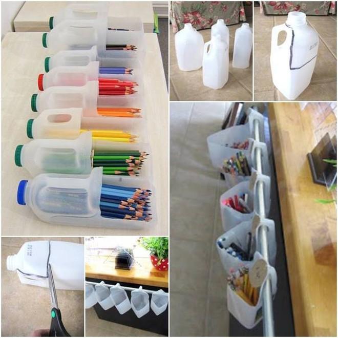 Muôn vàn cách tái chế đồ dùng độc đáo, hay ho từ chai nhựa bỏ đi - Ảnh 5.