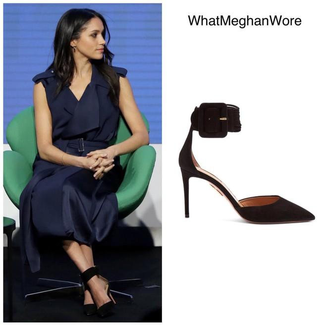 Chỉ chưa đầy 3 năm, tủ giày của Meghan Markle đã nhân lên gấp 3, ước tính giá trị lên đến hơn 2 tỷ đồng - Ảnh 6.