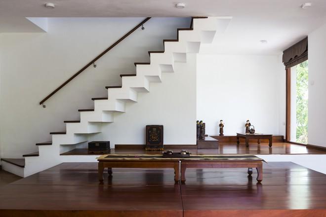 Ngất ngây với vẻ đẹp của ngôi nhà 3 tầng đậm chất kiến trúc Nhật Bản ở Vĩnh Phúc - Ảnh 5.