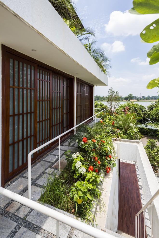 Ngất ngây với vẻ đẹp của ngôi nhà 3 tầng đậm chất kiến trúc Nhật Bản ở Vĩnh Phúc - Ảnh 6.