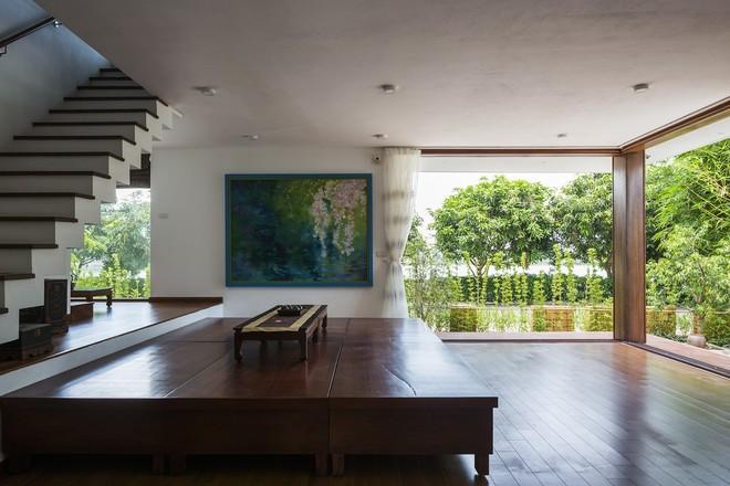 Ngất ngây với vẻ đẹp của ngôi nhà 3 tầng đậm chất kiến trúc Nhật Bản ở Vĩnh Phúc - Ảnh 4.