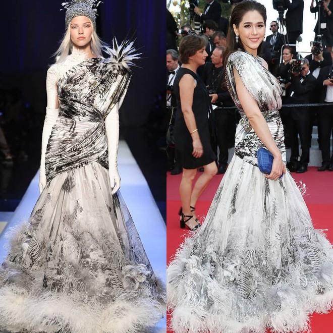 Chẳng phải Phạm Băng Băng hay dàn sao Hollywood, mỹ nhân Thái Chompoo Araya mới là người chiếm sóng thảm đỏ trong 5 ngày ở Cannes - Ảnh 11.