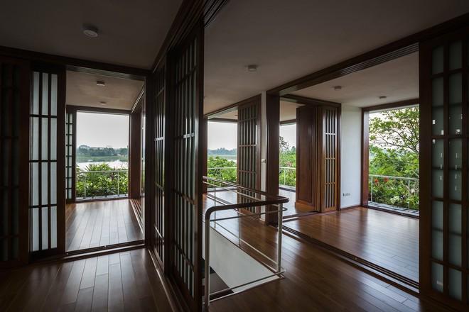 Ngất ngây với vẻ đẹp của ngôi nhà 3 tầng đậm chất kiến trúc Nhật Bản ở Vĩnh Phúc - Ảnh 12.