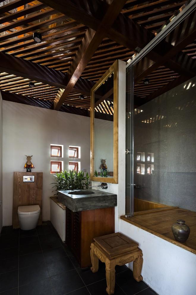 Ngất ngây với vẻ đẹp của ngôi nhà 3 tầng đậm chất kiến trúc Nhật Bản ở Vĩnh Phúc - Ảnh 9.