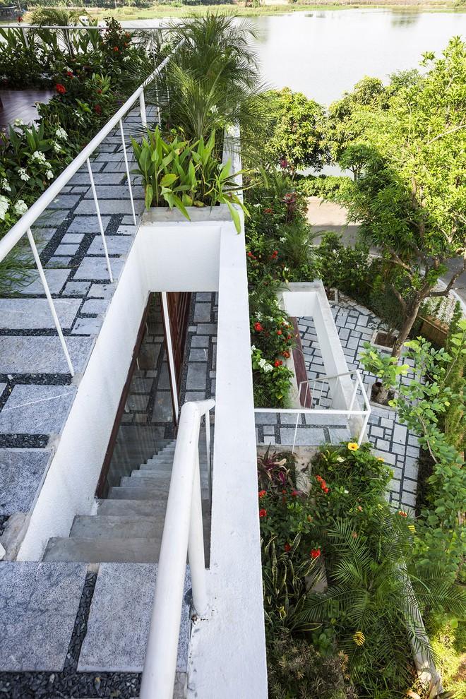Ngất ngây với vẻ đẹp của ngôi nhà 3 tầng đậm chất kiến trúc Nhật Bản ở Vĩnh Phúc - Ảnh 11.