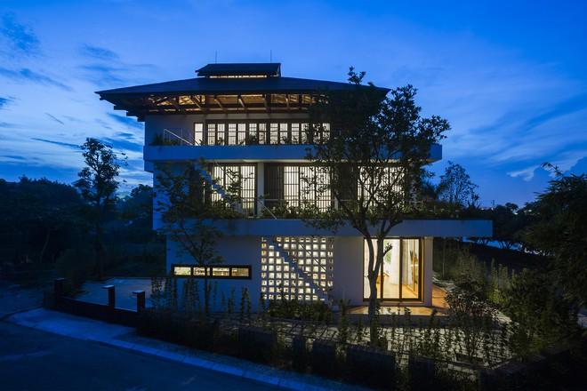 Ngất ngây với vẻ đẹp của ngôi nhà 3 tầng đậm chất kiến trúc Nhật Bản ở Vĩnh Phúc - Ảnh 13.