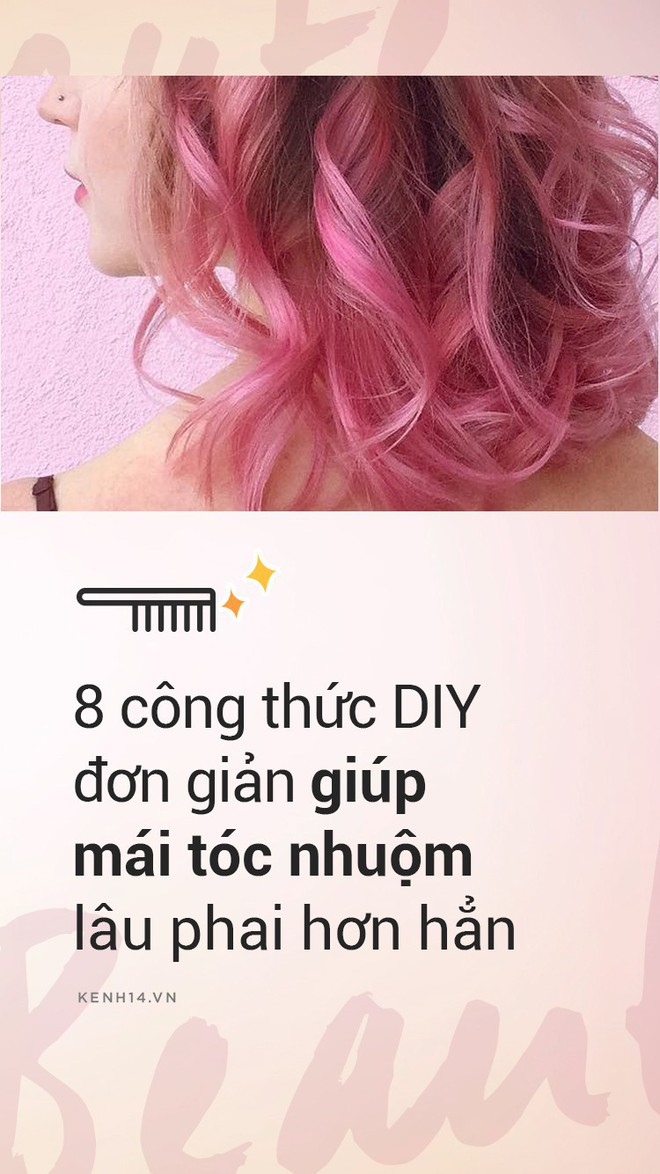 Chưa cần đến đồ đắt tiền, 8 công thức DIY rẻ bèo này sẽ giúp mái tóc nhuộm của bạn giữ màu chuẩn và lâu phai hơn - Ảnh 1.
