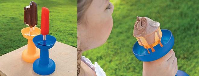 Thoái mái ăn kem mà không lo rớt bẩn ra quần áo nhờ dụng cụ hứng mới lạ này - Ảnh 4.