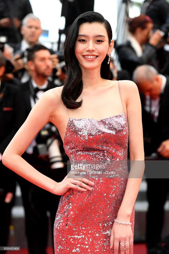 Người táo bạo diện váy hở nội y, kẻ khoe nguyên vòng eo nhiều mỡ trên thảm đỏ Cannes ngày thứ 7 - Ảnh 4.