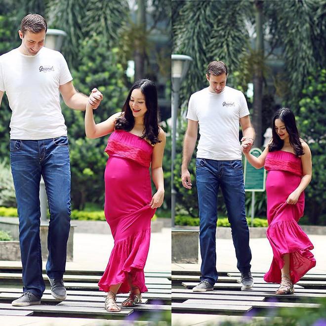 Diễn viên Lan Phương đã hạ sinh con gái đầu lòng sáng nay - Ảnh 2.