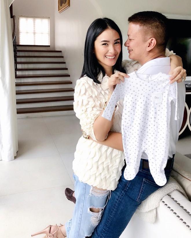 Vừa bị than lấy chồng 3 năm chưa có con, phu nhân nghị sĩ Phillipines, bạn của Tăng Thanh Hà liền khoe đang mang bầu - Ảnh 5.