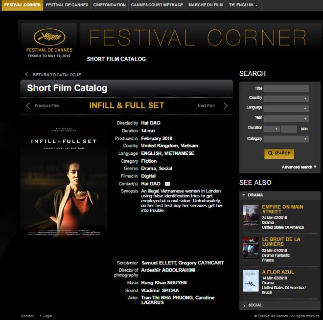 Nhã Phương xuất hiện đầy tự tin, cá tính khi phim ngắn được trình chiếu tại Cannes 2018 - Ảnh 1.