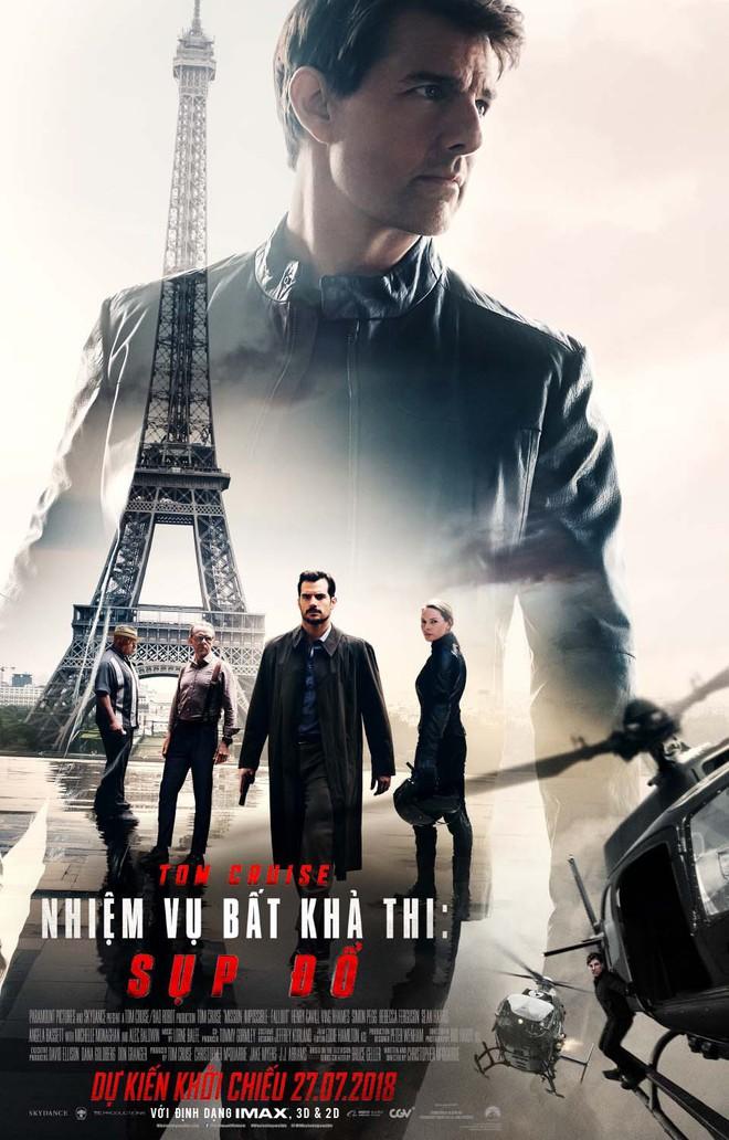 Tom Cruise gây thót tim với loạt cảnh quay không thể tưởng tượng nổi trong trailer của Nhiệm vụ bất khả thi: Sụp đổ - Ảnh 6.
