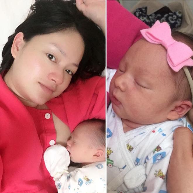 Khoe ảnh bên con gái một ngày tuổi, Lan Phương thấy cuộc sống thật kì diệu - Ảnh 2.