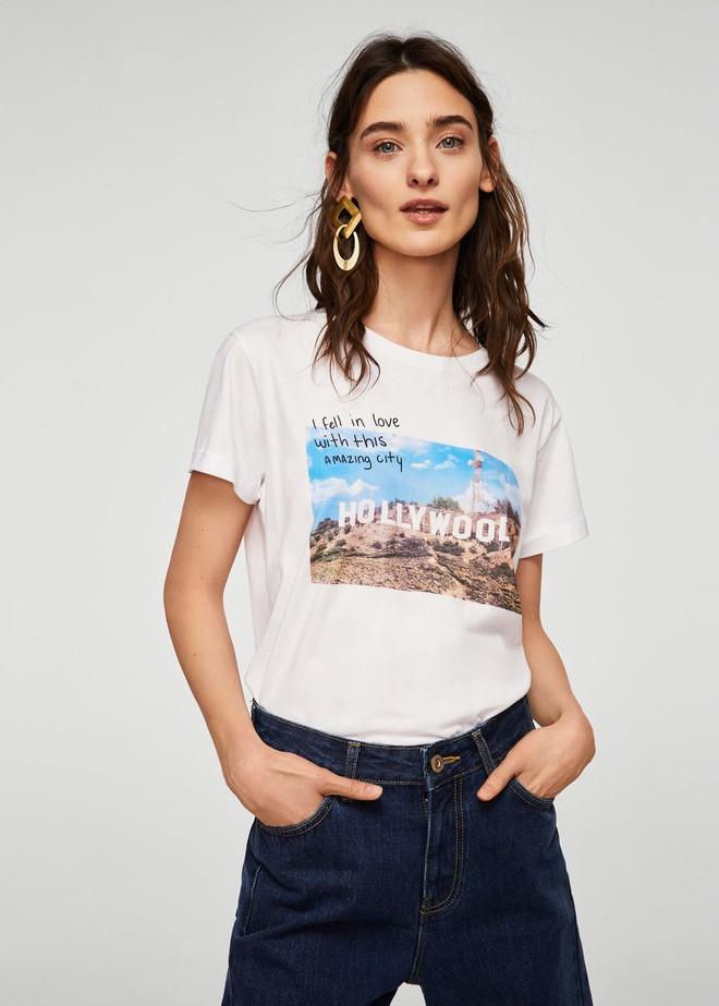 Nếu chán áo phông trắng trơn hay in chữ, Zara H&M còn đủ kiểu áo in hình nổi bật mà giá chưa quá 500 ngàn đồng - Ảnh 10.