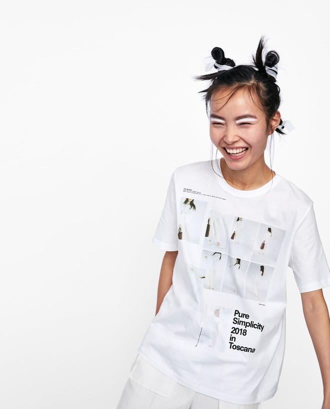 Nếu chán áo phông trắng trơn hay in chữ, Zara H&M còn đủ kiểu áo in hình nổi bật mà giá chưa quá 500 ngàn đồng - Ảnh 3.