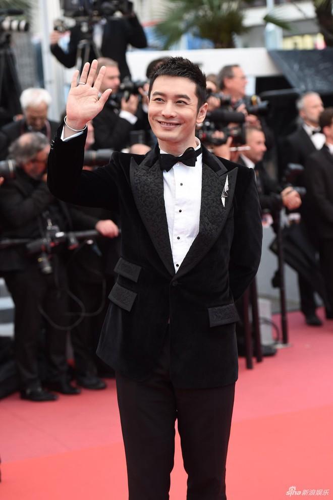 Dàn soái ca Châu Á Huỳnh Hiểu Minh, Yoo Ah In khiến loạt mỹ nhân phải lép vế khi xuất hiện trên thảm đỏ Cannes - Ảnh 8.