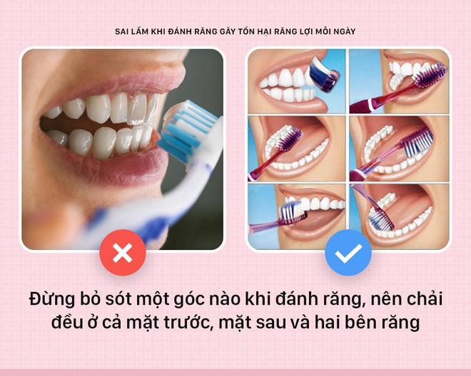 Đánh răng mà cứ mắc phải những sai lầm này thì bảo sao răng lợi ngày một yếu hơn - Ảnh 2.