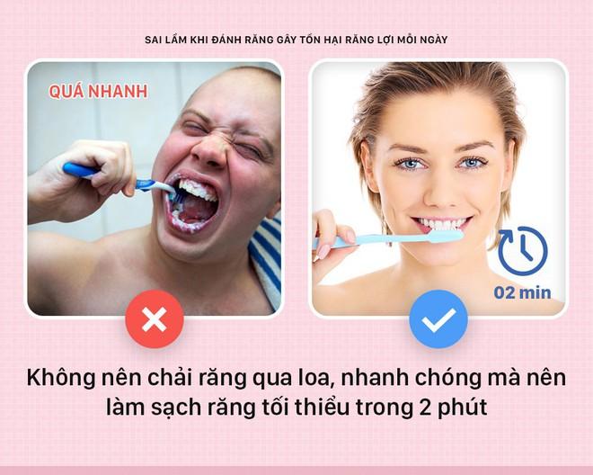 Đánh răng mà cứ mắc phải những sai lầm này thì bảo sao răng lợi ngày một yếu hơn - Ảnh 4.