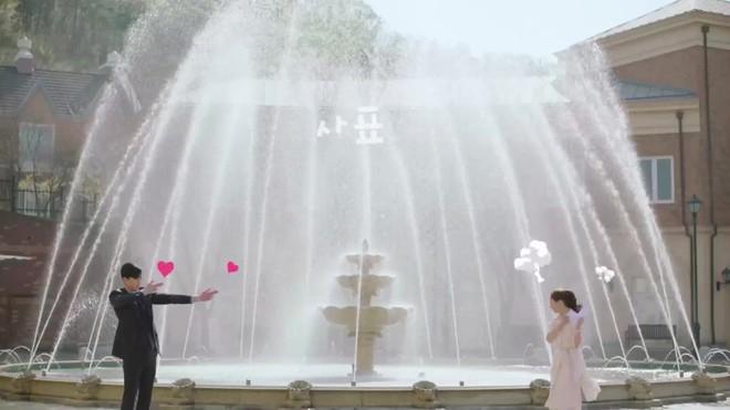 Khổ thân Park Seo Joon, ra sức bắn tim cho Park Min Young nhưng bị hắt hủi chỉ vì... cái tai - Ảnh 10.