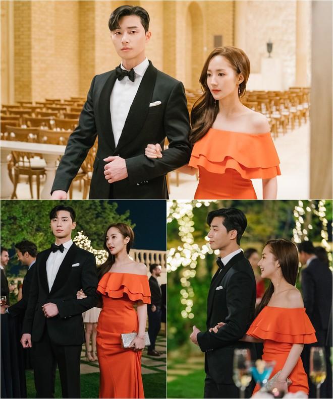 Khổ thân Park Seo Joon, ra sức bắn tim cho Park Min Young nhưng bị hắt hủi chỉ vì... cái tai - Ảnh 11.