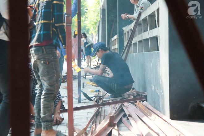 Hà Nội: Bắt đầu cưỡng chế 42 cơ sở kinh doanh trên mặt đường Nguyễn Khánh Toàn - Ảnh 11.