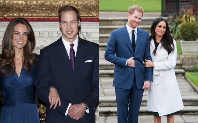 """Thú vị trong việc """"cân đo"""" chuyện tình 2 hoàng tử xem bên nào nặng hơn?"""