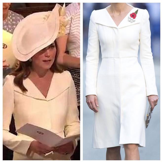 Hôm nay đám cưới em chồng, không phải ngẫu nhiên mà công nương Kate mặc lại kiểu váy cũ này - Ảnh 6.