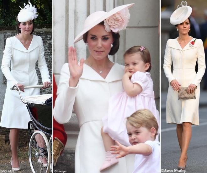 Hôm nay đám cưới em chồng, không phải ngẫu nhiên mà công nương Kate mặc lại kiểu váy cũ này - Ảnh 13.