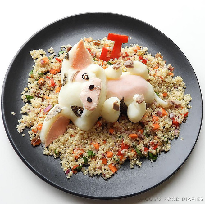 Những đĩa cơm ngộ nghĩnh đảm bảo lũ trẻ thích mê, giúp các mẹ biến việc cho con ăn không trở thành cuộc chiến - Ảnh 5.