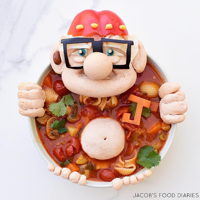 Những đĩa cơm ngộ nghĩnh đảm bảo lũ trẻ thích mê, giúp các mẹ biến việc cho con ăn không trở thành cuộc chiến - Ảnh 1.