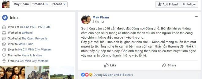 Tăng Thanh Hà công khai ủng hộ vợ chồng Phạm Anh Khoa giữa tâm bão scandal  - Ảnh 2.