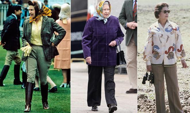 Uẩn khúc đằng sau việc Nữ hoàng Anh chỉ toàn diện váy mà hiếm khi mặc quần dài - Ảnh 3.