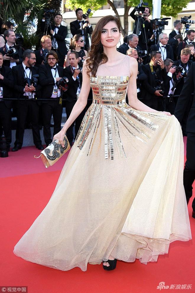 Thảm đỏ Cannes ngày bế mạc: Người nỗ lực diện váy áo xuyên thấu khoe thân, kẻ bị lộ nội y kém duyên  - Ảnh 15.