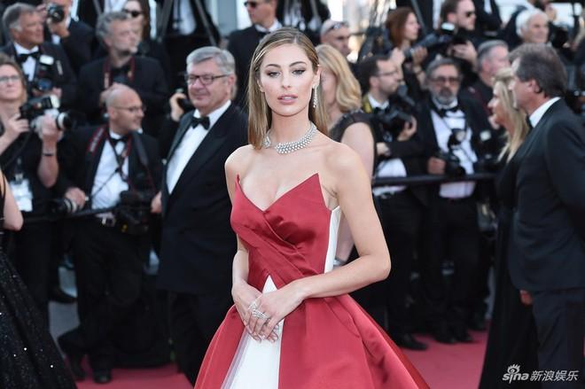 Thảm đỏ Cannes ngày bế mạc: Người nỗ lực diện váy áo xuyên thấu khoe thân, kẻ bị lộ nội y kém duyên  - Ảnh 9.