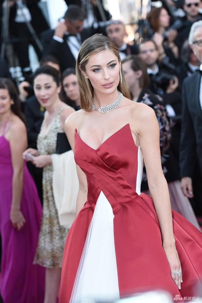 Thảm đỏ Cannes ngày bế mạc: Người nỗ lực diện váy áo xuyên thấu khoe thân, kẻ bị lộ nội y kém duyên  - Ảnh 8.