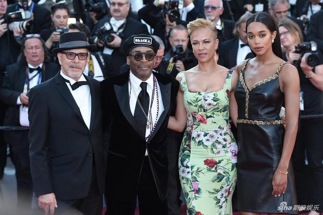 Thảm đỏ Cannes ngày bế mạc: Người nỗ lực diện váy áo xuyên thấu khoe thân, kẻ bị lộ nội y kém duyên  - Ảnh 1.