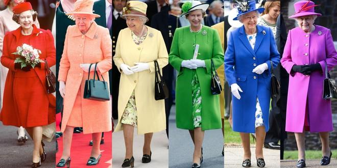 Nếu bạn thắc mắc vì sao Nữ hoàng Elizabeth mặc đồ xanh nõn chuối đến Đám cưới Hoàng gia thì lý do là thế này - Ảnh 5.