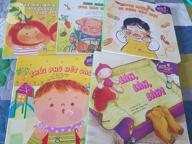 Từ A-Z những điều bố mẹ nên biết để vui đọc sách cùng con từ 0 đến 2 tuổi - Ảnh 8.
