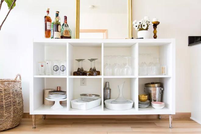 Trang trí khu vực để đồ uống của gia đình thật phong cách  - Ảnh 1.