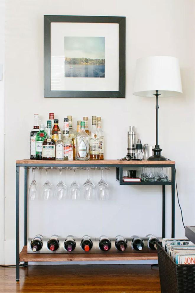 Trang trí khu vực để đồ uống của gia đình thật phong cách  - Ảnh 3.
