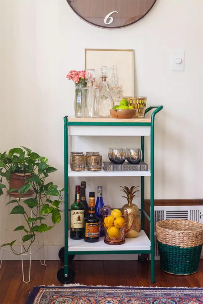 Trang trí khu vực để đồ uống của gia đình thật phong cách  - Ảnh 4.
