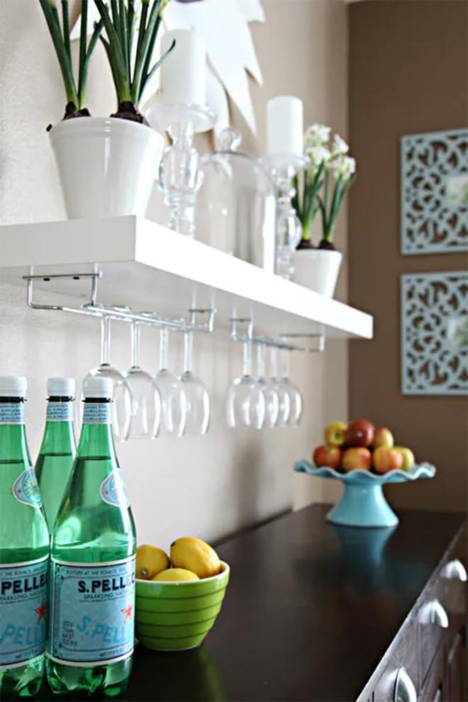 Trang trí khu vực để đồ uống của gia đình thật phong cách  - Ảnh 5.