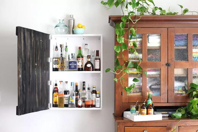 Trang trí khu vực để đồ uống của gia đình thật phong cách  - Ảnh 9.