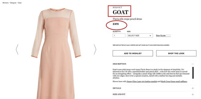 Hiệu ứng Meghan Markle lại khiến cho chiếc váy mà cô mặc bán hết sạch chỉ sau vài giờ - Ảnh 6.