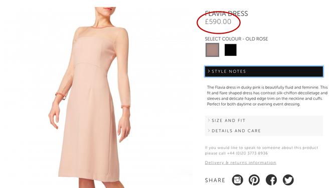Hiệu ứng Meghan Markle lại khiến cho chiếc váy mà cô mặc bán hết sạch chỉ sau vài giờ - Ảnh 5.